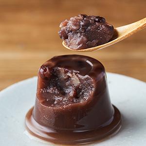 大人氣涼菓 紅豆茸有機水羊羹 100g (東京都製)